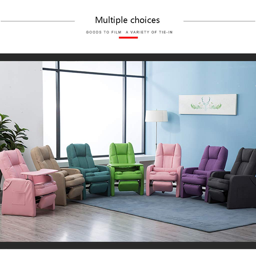Nursing Glider stol sessel ottoman lazy soffa stol dator stol ryggstöd ligg amning äldre stol balkong sovrum liten soffa fritid lounge stol F1
