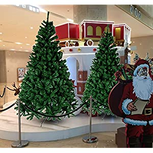 CHEERSON Premium Christmas Tree, Easy-Assembly Artificial Evergreen Christmas Tree with Solid Metal Legs 2