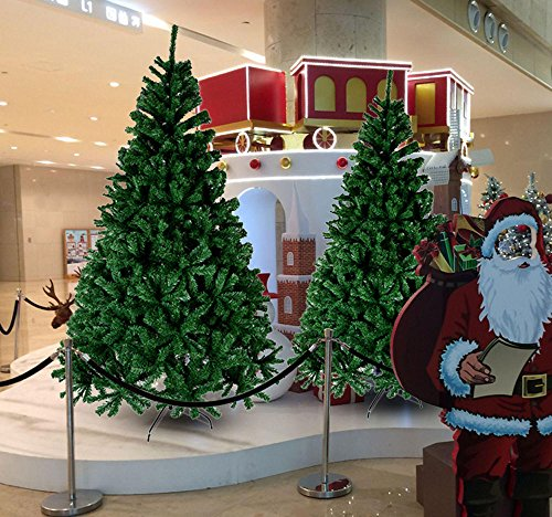 CHEERSON-Premium-Christmas-Tree-Easy-Assembly-Artificial-Evergreen-Christmas-Tree-with-Solid-Metal-Legs
