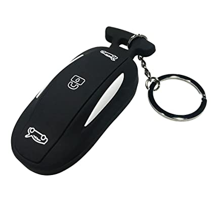 Car Remote Key >> Amazon Com For Tesla Model X Car Remote Key Fob Flip Key Protection