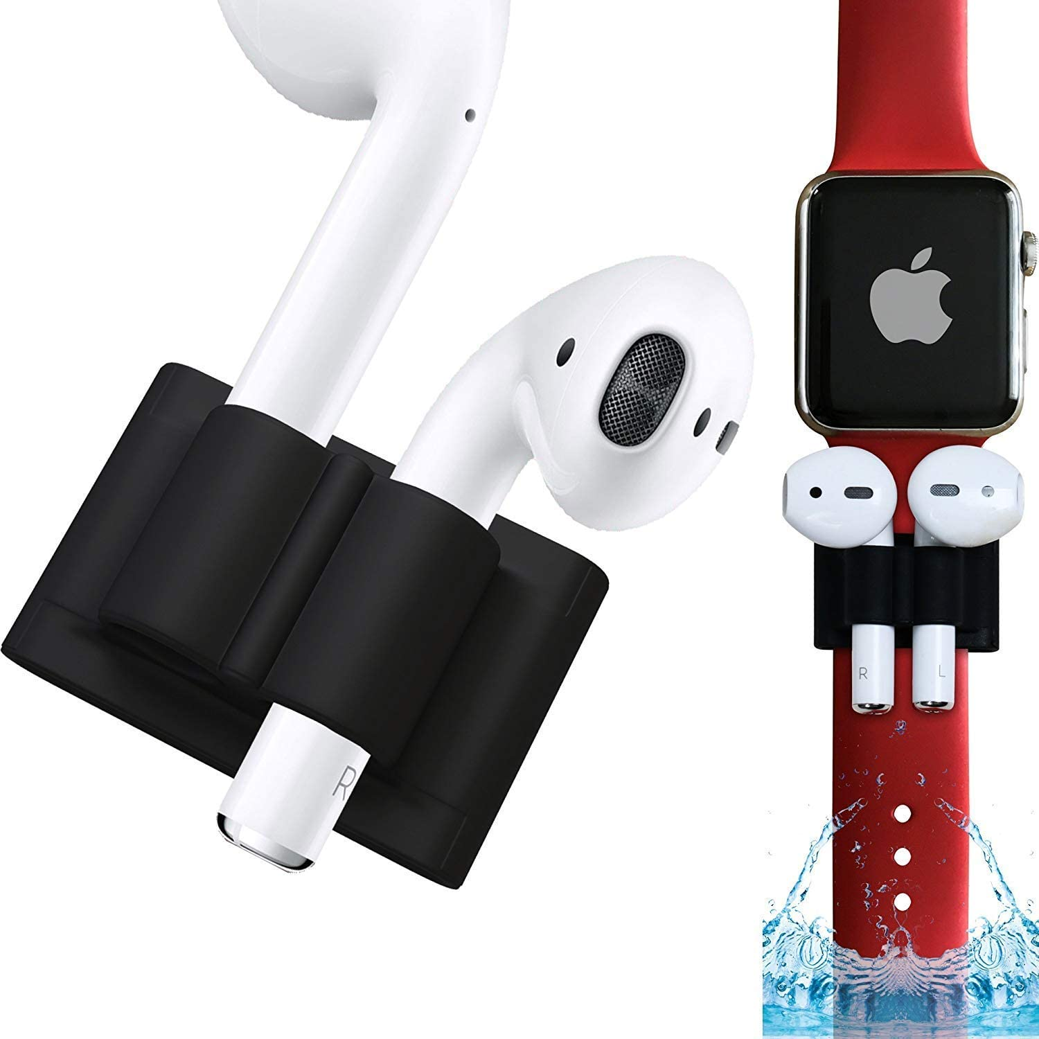 AirPods Watch Band Holder | Apple Airpod Accessories Holder for Exercise | Safely Secure Your AirPods On Your Wrist Strap with The Bander While Working Out
