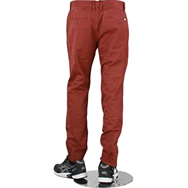 a105cdafb276a8 Image Unavailable. Image not available for. Color  Vans Men Excerpt Chino  Pegged Pants ...