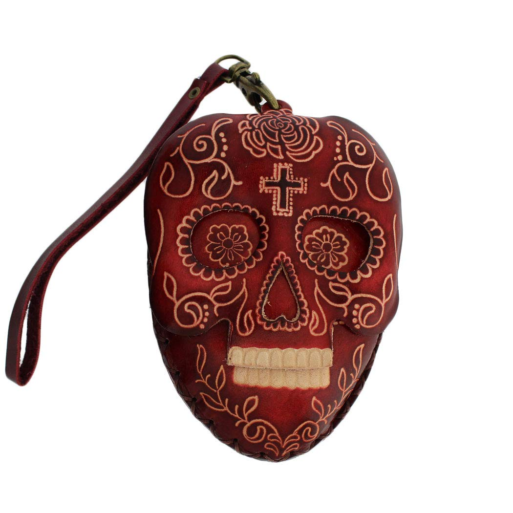 Leather Day Dead Skull...