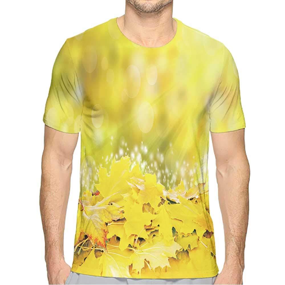 PRUNUS T-Shirts for Men v Neck Fashion Mens 3D Top Tees