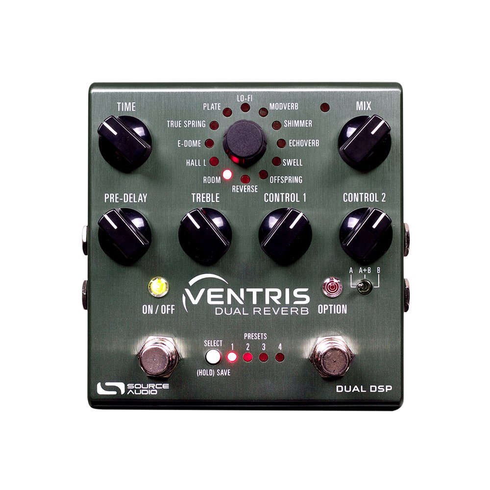 Source Audio SA262 Ventris Dual Processor Reverb