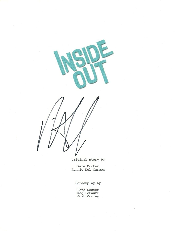 Richard Kind Signed Autographed INSIDE OUT Movie Script Bing