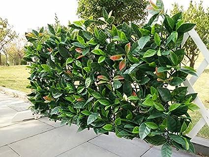 E Joy 24 Piezas Seto Artificial De Arbusto Planta Valla De - Arbustos-para-vallas