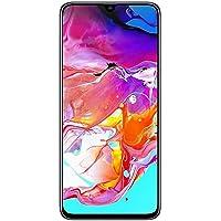 """Samsung Galaxy A70 128GB/6GB SM-A705M/DS 6.7"""" HD+ Infinity-U 4G/LTE Smartphone Desbloqueado de fábrica (versión Internacional), Blanco"""
