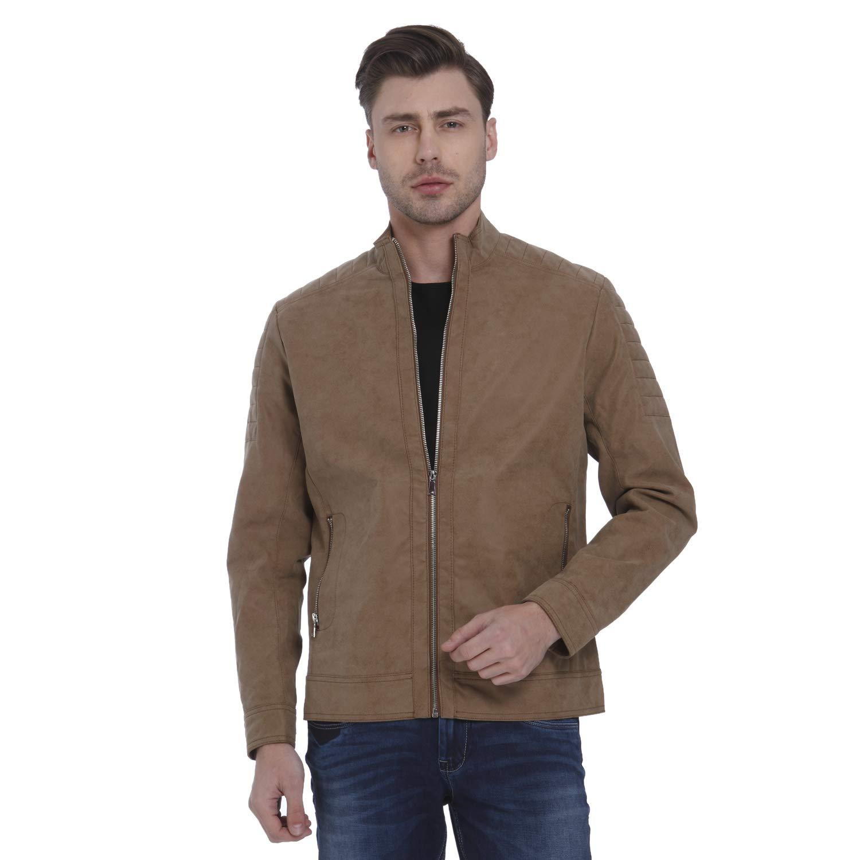 acaedbac3 Mufti Mens Khaki Regular Fit Jackets (Large): Amazon.in: Clothing ...