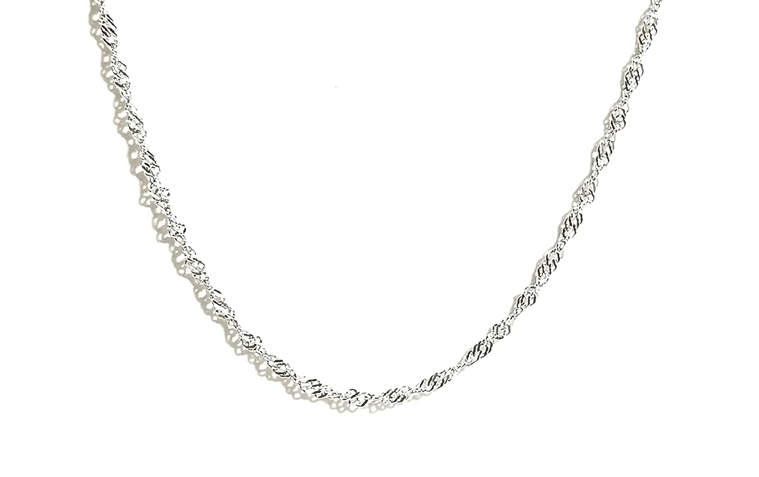 JL Silver Chain Sterling Silver Necklaces for Women Necklaces