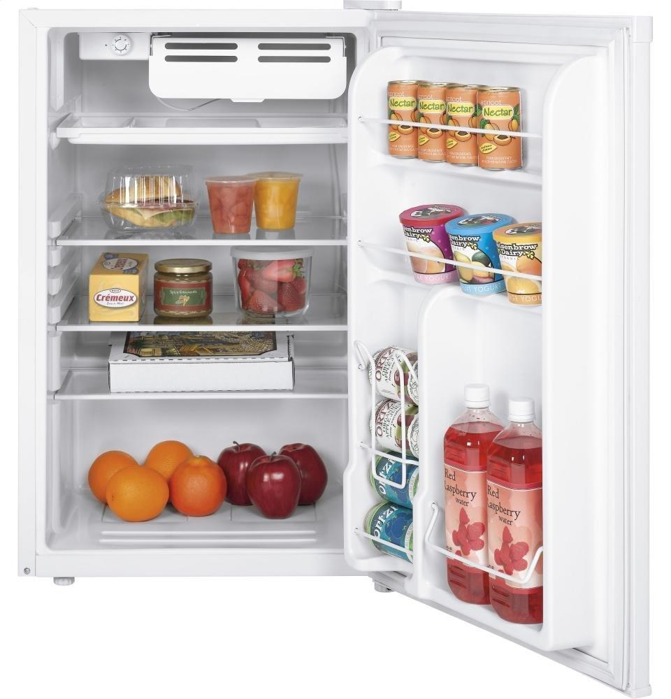 amazoncom ge wmr04gadww 44 cu ft white compact appliances - Ge Mini Fridge