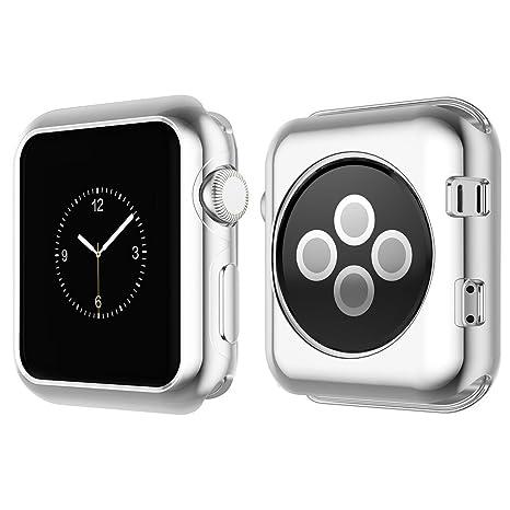 Funda NXET®, protectora para relojes Apple serie 3 / serie 2, suave y