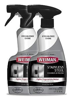Weiman 12 oz Spray Stainless Steel Cleaner