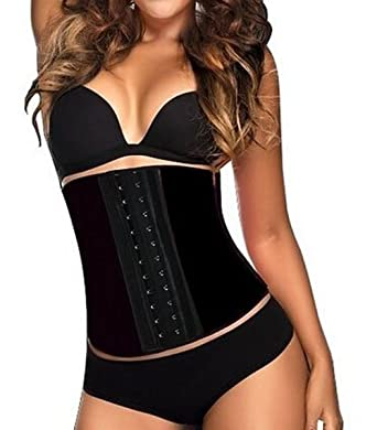 991fe5238a Evana Women Body Shaper Best Waist Trainer Tummy Tucker Vest With 100%  Latex 3-