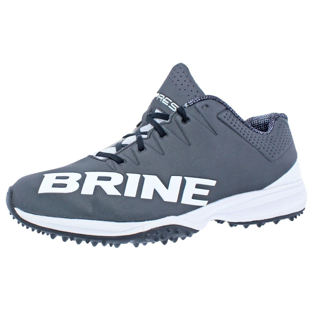 Brine Womens Empress Lacrosse Turf Athletic Shoes Black 12 Medium (B,M)