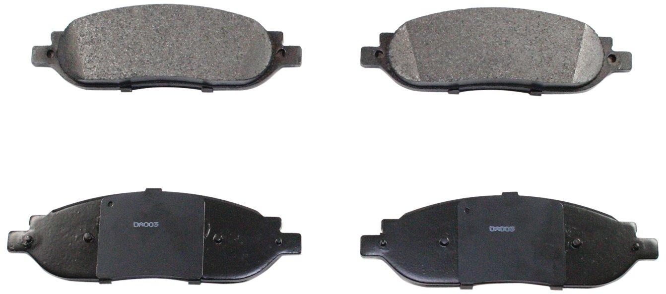 DuraGo BP1068 C Rear Ceramic Brake Pad Dura International BP1068C