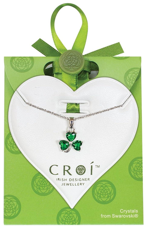 Amazon.com: Carrolls Irish Gifts Irish Designed Croí Shamrock ...