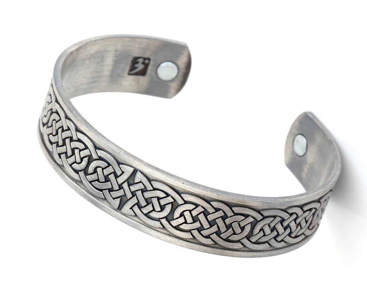 Ancient Irish Knot Magnetic Health Cuff Bracelet Men Women Jewelry YiYou
