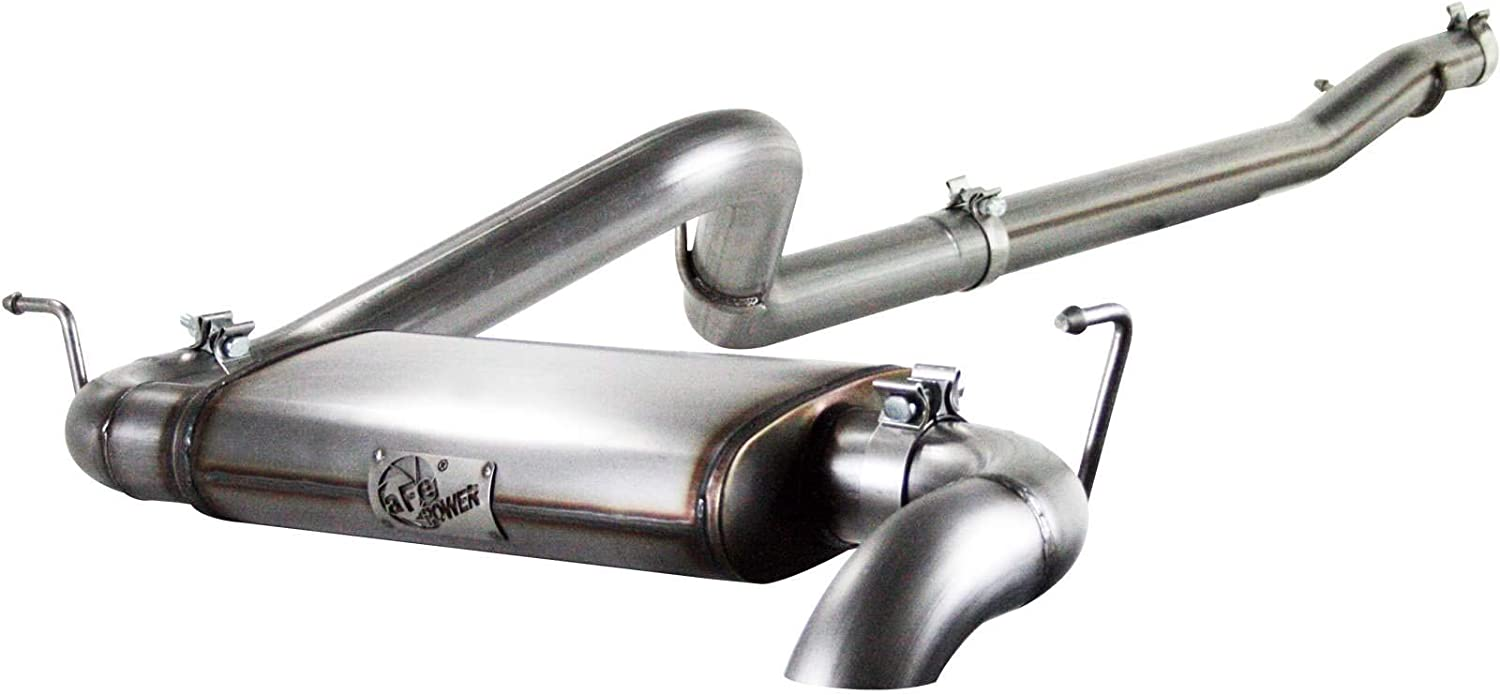 aFe Power 49-46221 3-Inch Cat-Back Exhaust System for Jeep Wrangler
