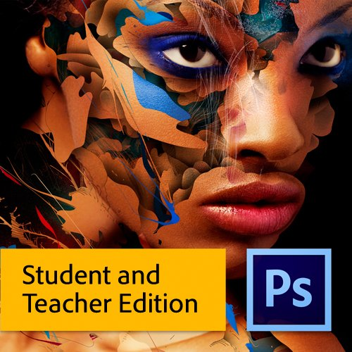 Adobe Photoshop Extended CS6 Student and Teacher Edition for Mac [Download] [Old Version]
