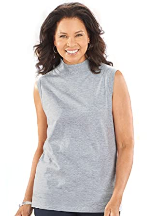 Sleeveless Mock Neck Top At Amazon Womens Clothing Store - What is invoice price best online women's clothing stores