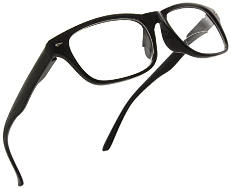 9c0fb67e3c9e Trendy Bifocal Reading Glasses Readers with Spring Hinges for Men and Women  [Black, 1.25
