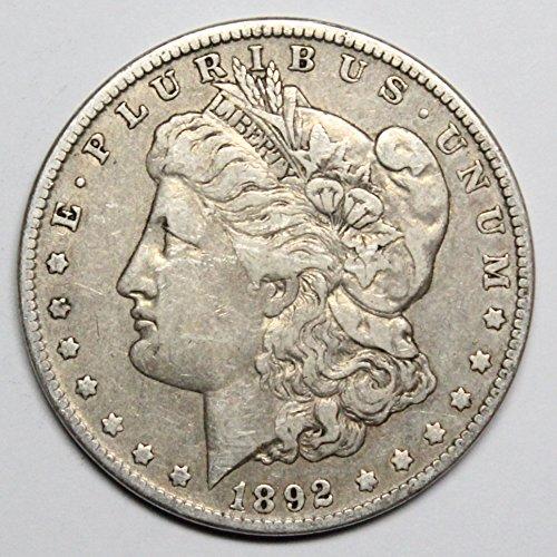 1892 O Morgan Silver Dollar $1 -