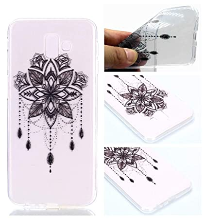 reputable site 18770 484db Amazon.com: MGVV Galaxy J6 Plus Case for Girls, Ultra Thin Anti-Drop ...