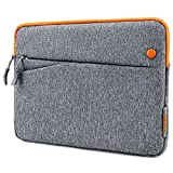tomtoc 10.5 inch Tablet Sleeve Bag Compatible with iPad Pro | 9.7 inch New iPad 2017 | 2018 Surface Go | Samsung Galaxy Tab, Fit for Apple Pencil & Smart Keyboard, with Accessory Pockets
