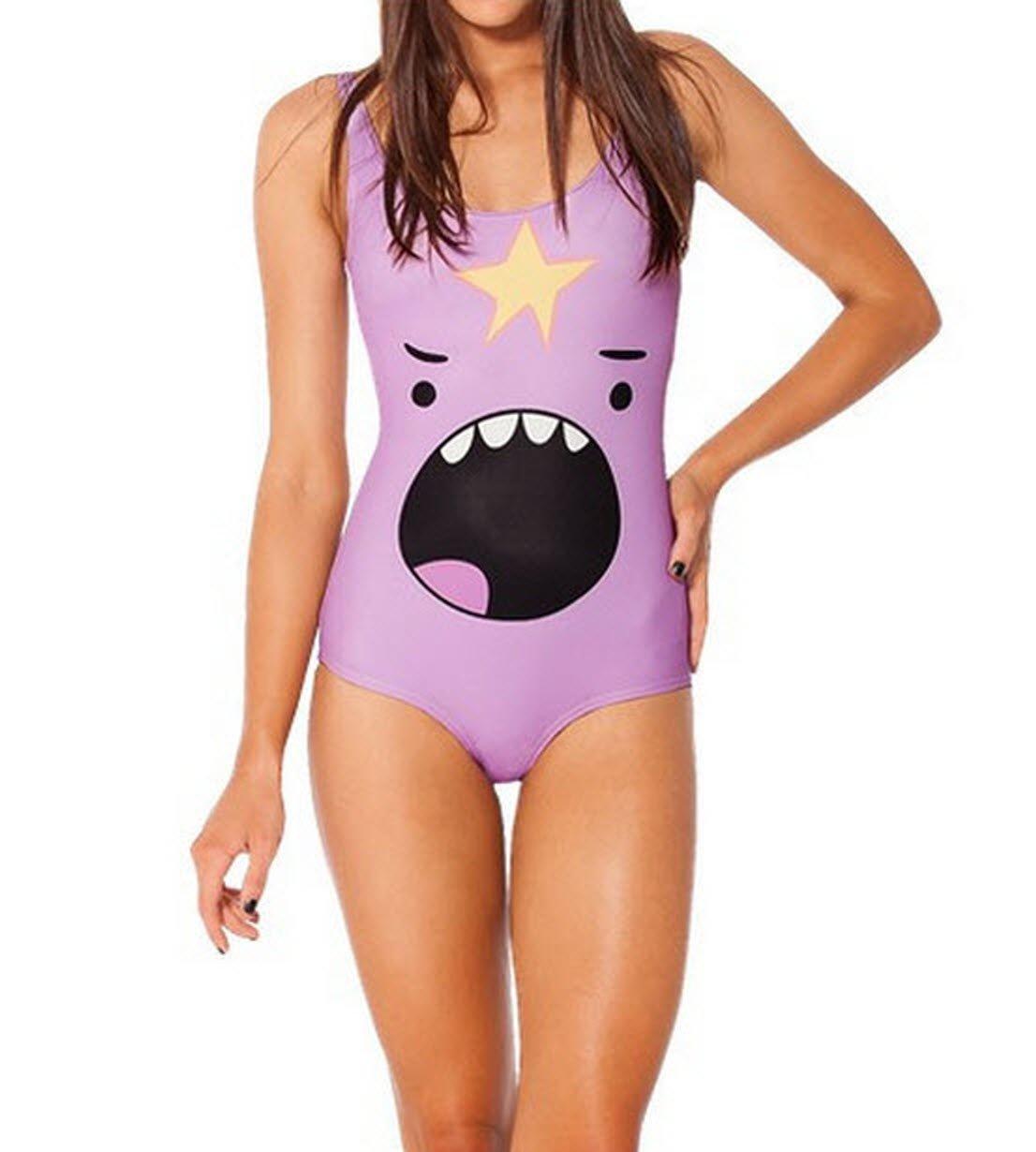 Lumpy Space Princess one piece bikini GOMOSWIM