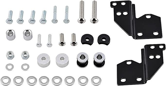 Front Docking Hardware Kit For Harley Touring Road King Street Glide 53803-06