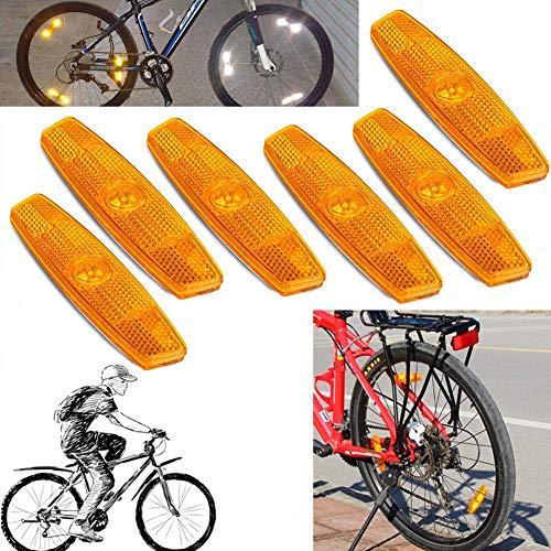 2pcs Bike Foot Pedal Universal Bicycle Reflector Cycle Cycling Reflectors*-*