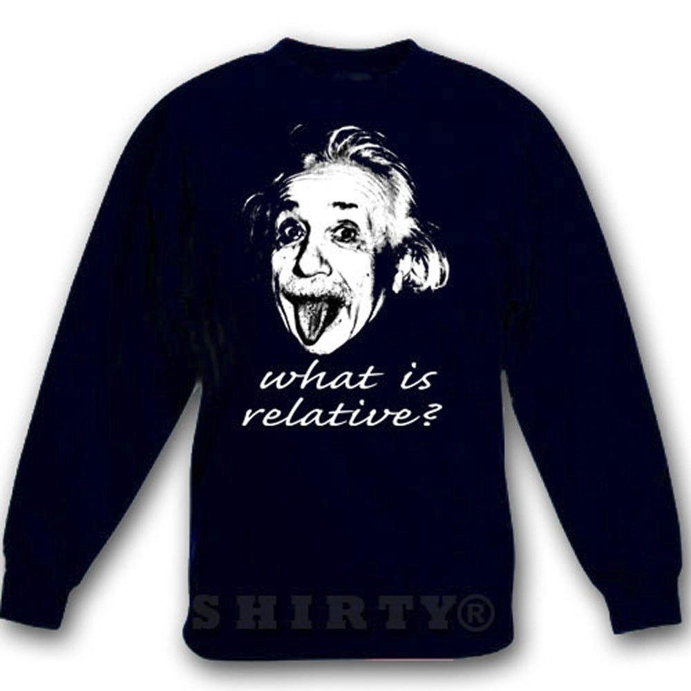 Albert Einstein 1 - Sweat - Shirt - schwarz - S bis 5XL - 1057