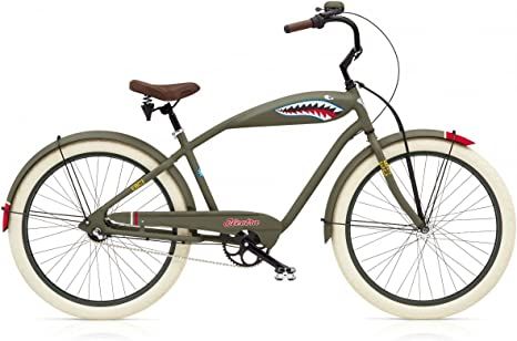Beach Cruiser Electra Tiger Shark 3i: Amazon.es: Deportes y aire libre