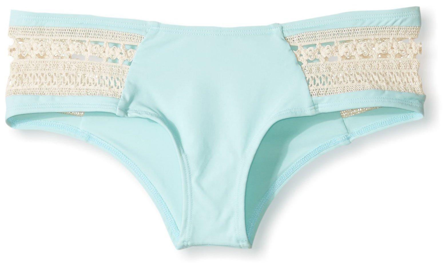 LSpace Women's Boho Classic Cut Bikini Bottom, Seaglass, XS