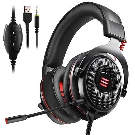 Amazon.com: EKSA E900 Gaming Headset Xbox One Headset with 7.1