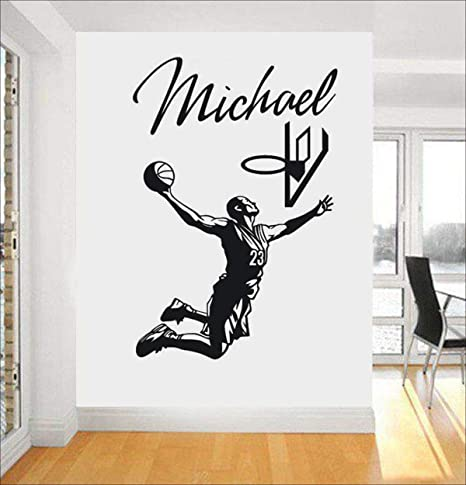 Jugador De Baloncesto Michael Jordan Pegatinas De Pared ...