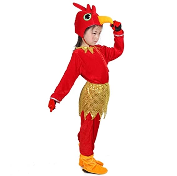 Kids Animal Costumes Hooded Fancy Dress Party Unisex Outfit Pajamas Cosplay