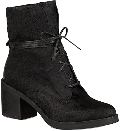 baf1578f814 UGG Womens Oriana Exotic Ankle Boot Black Size 9: Amazon.ca: Shoes ...