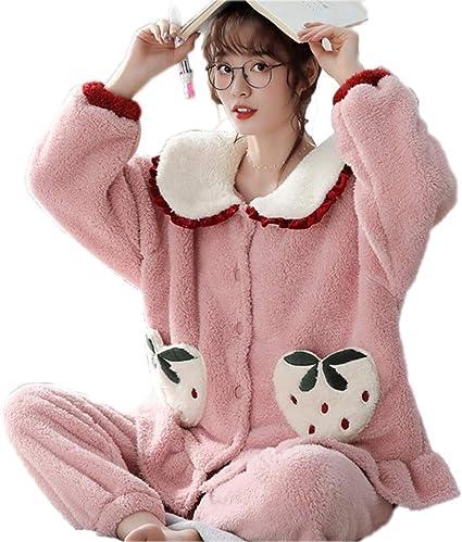 Camisones Pijamas Pijamas de Mujer Pijamas de Terciopelo de ...