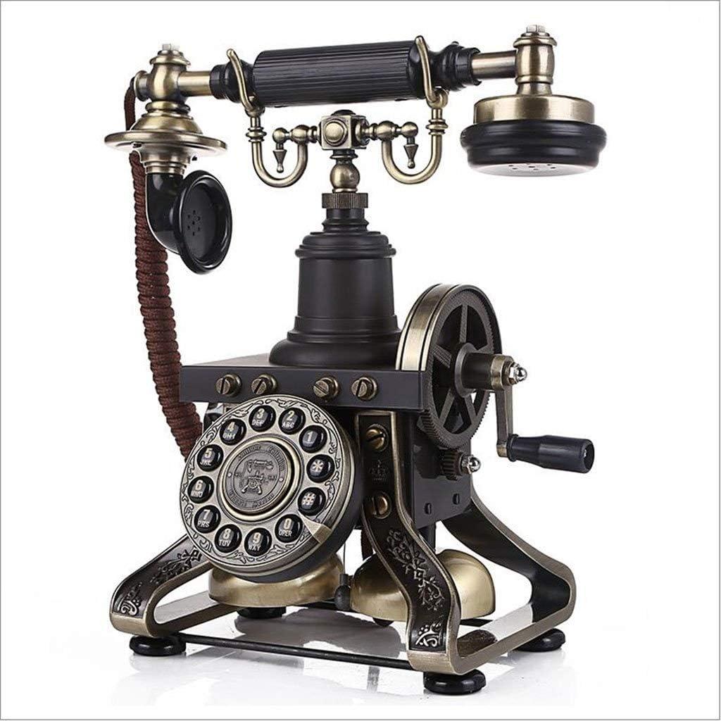 PEILIAN Teléfono Familiar Antiguo Teléfono Fijo Teléfono Vintage Teléfono De Línea Rotativa