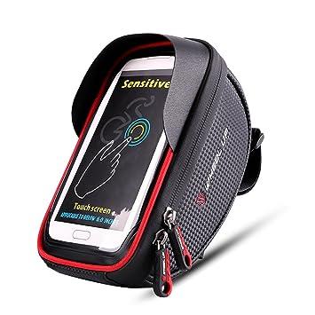 online retailer 869d7 27201 Bike phone mount bag wtih Waterproof Touch Screen Phone Case ,Frame ...