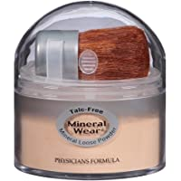 Physicians Formula Mineral Wear Talc-Free Loose Powder, Translucent Medium, 0.49 Ounce