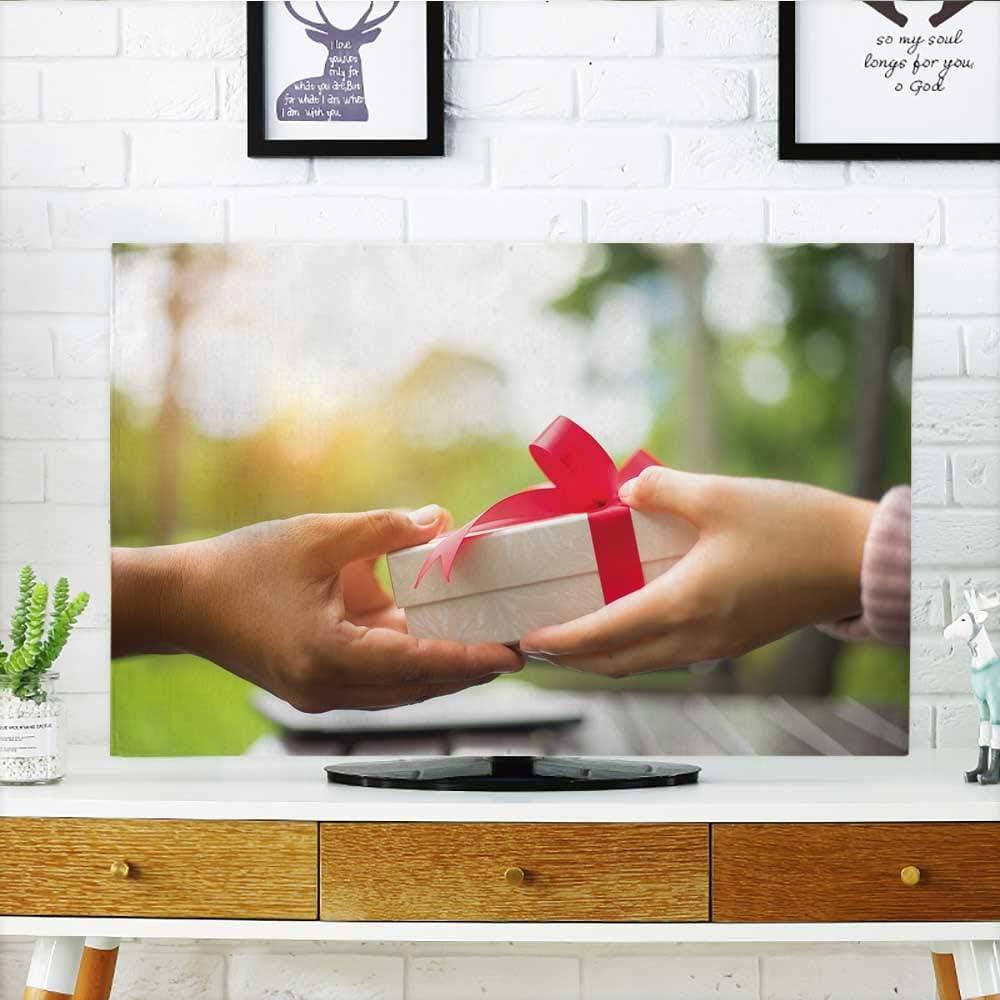Philiphome Protect Your TV - Vector de Diversidad Cultural y étnica, Protege tu televisor (Ancho 19 x Alto 30 Pulgadas/TV 32 Pulgadas): Amazon.es: Hogar