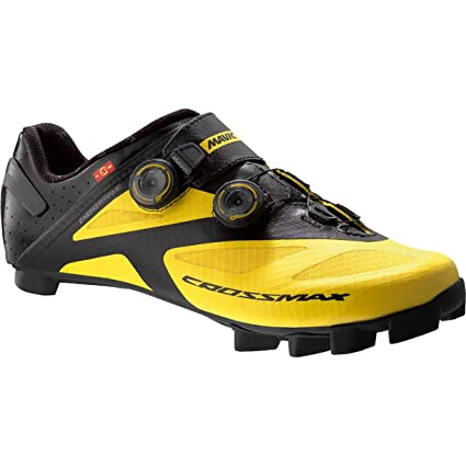 Mavic Crossmax SL Ultimate - Zapatillas - amarillo/negro Talla del calzado UK 9,