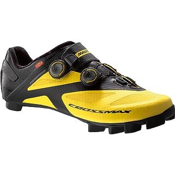 Mavic Crossmax SL Ultimate - Zapatillas - amarillo/negro Talla del calzado UK 9,