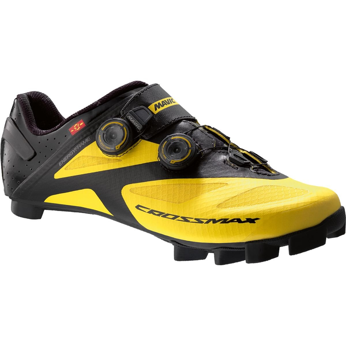 Mavic Crossmax SL Ultimate Shoe – Men 's B0153RLIKU 7.5 D(M) US|Yellow Mavic/Black Yellow Mavic/Black 7.5 D(M) US