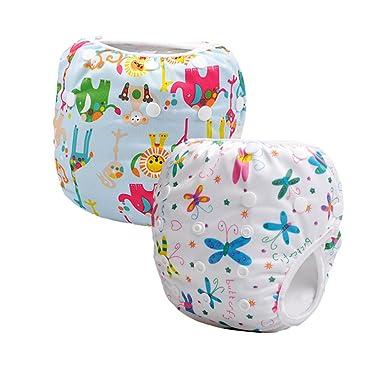Baby Swim 6 Months Storeofbaby 2pcs Baby Swim Diapers Reusable Adjustable Waterproof