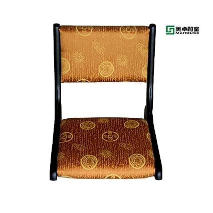 Denzihx Chair Without Legs,[japanese Style] Tatami Mats Floor Chair  Backrest Meditation
