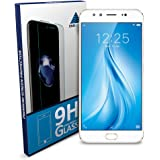 SNM GLOBAL Tempered Glass Screen Protector for VIVO V5 Plus